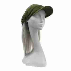 cap headband green