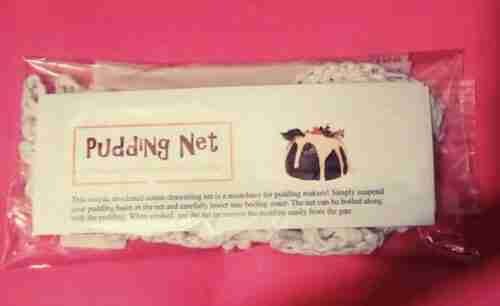 pudding net cotton in pack