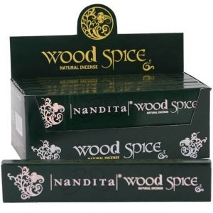 Nandita Original Wood Spice incense joss sticks