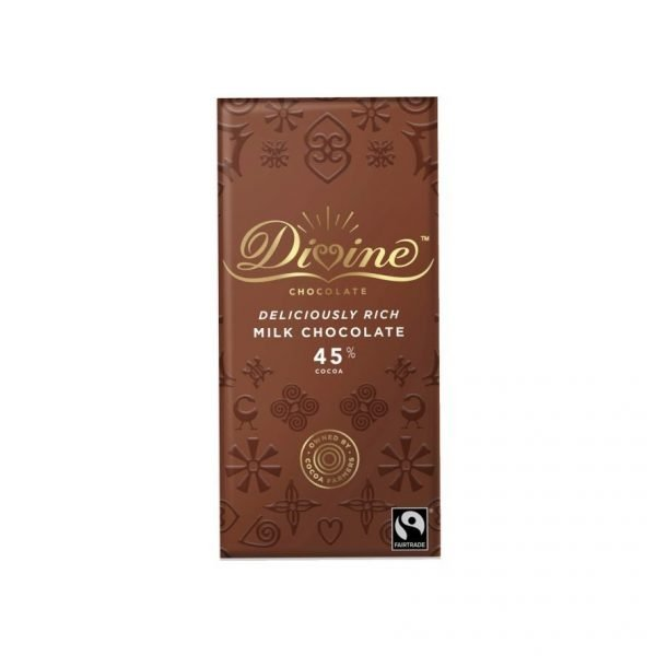 Divine Milk chocolate 90g bar
