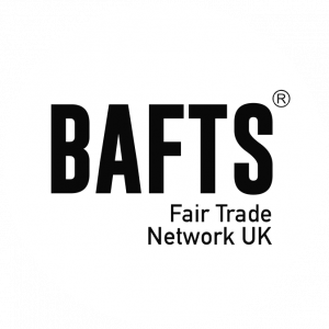 Bafts logo black on white