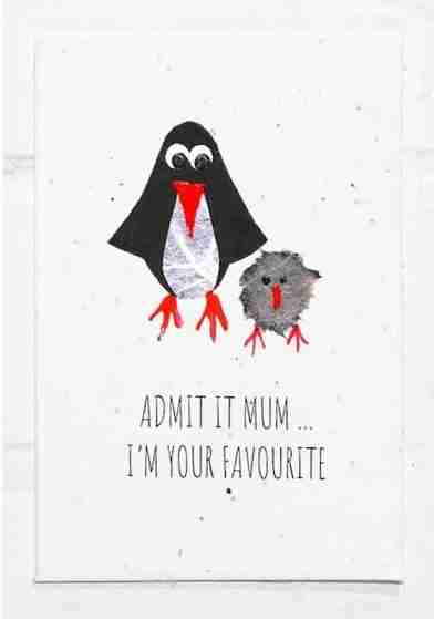 admit it mum i'm your favourite mothers day card, birthday card for mom mum