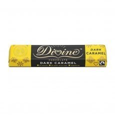 divine dark chocolate caramel 35g bar