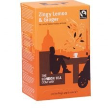 london zingy lemon tea pack