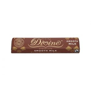 Divine milk chocolate 35g bar