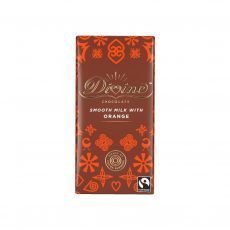 Divine milk chocolate orange 90g bar