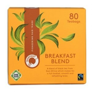 traidcraft breakfast blend teabags pack