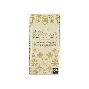 Divine white chocolate 90g bar