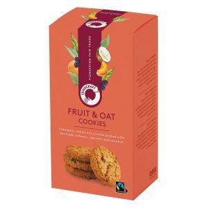 Traidcraft fruit & oat cookies
