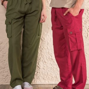 Cotton trousers, 3 colours