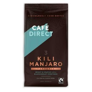 Cafédirect ground coffee: Kilimanjaro