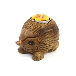 Hedgehog tealight holder